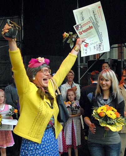 de Martha - beim Sieg HERZKLOPFEN KOSTENLOS 2009